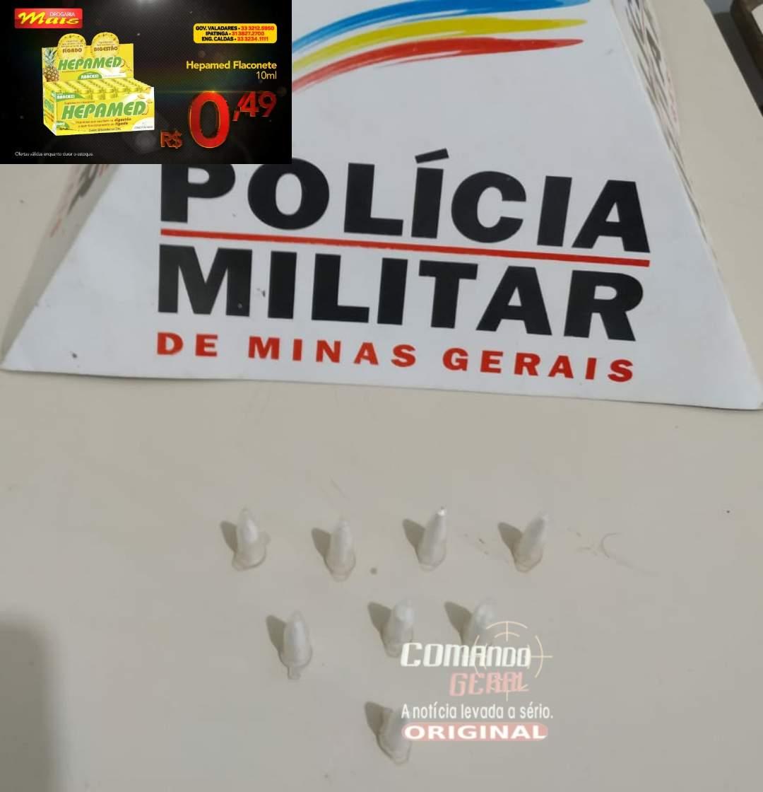 POLÍCIA MILITAR APREENDE MENOR INFRATOR EM MATHIAS LOBATO