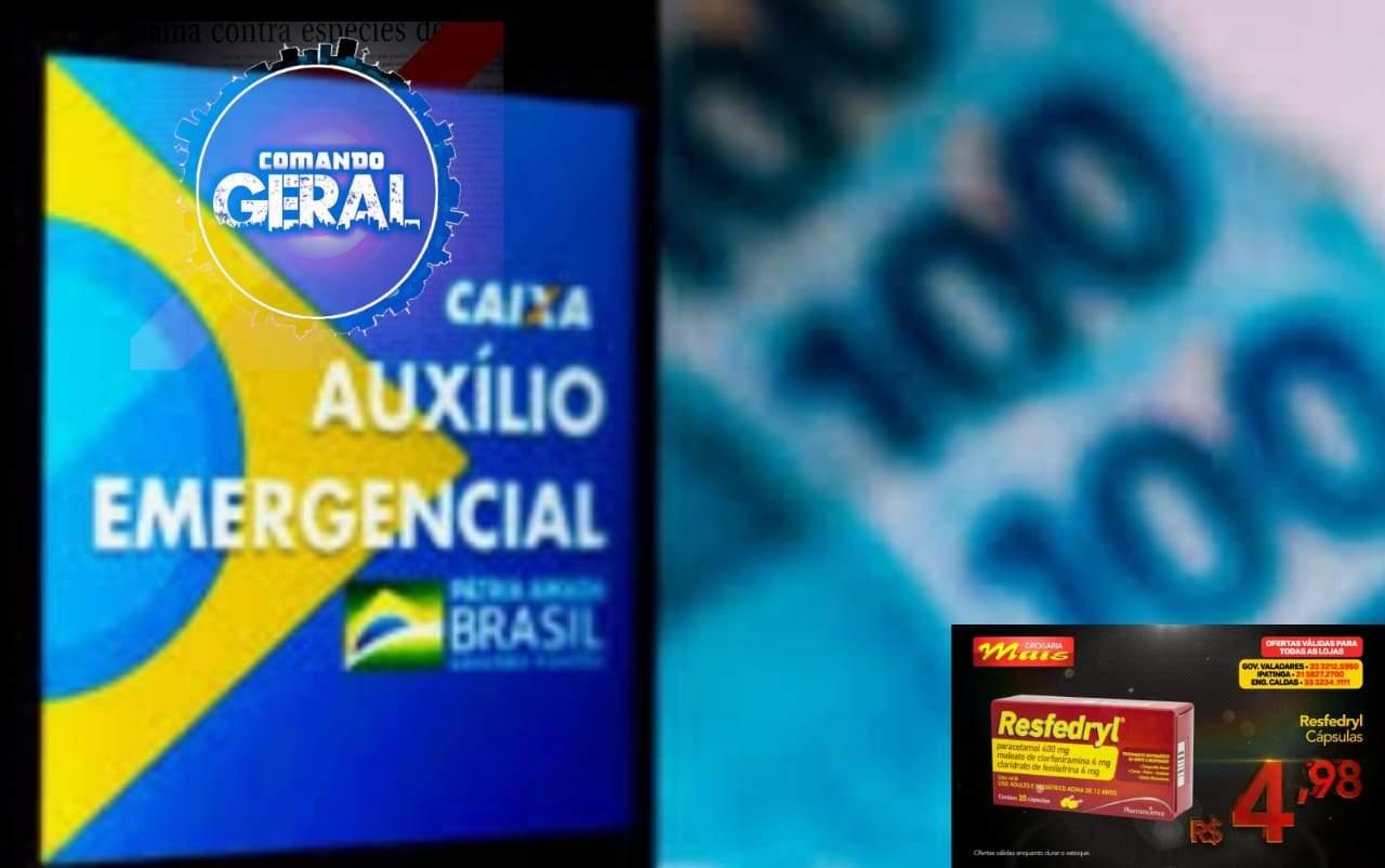 Bolsonaro publica decreto de prorrogação do auxílio de R$600 por mais dois meses