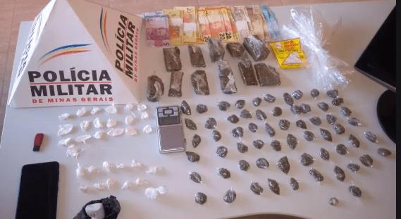 DROGAS SÃO APREENDIDAS DEPOIS DE UMA DISCUSSÃO ENTRE DOIS AMIGOS EM GOVERNADOR VALADARES