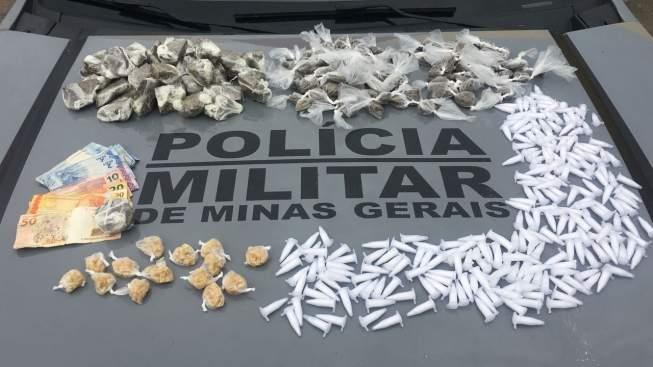 Guanhães: PCMG apreende grande quantidade de drogas e armas